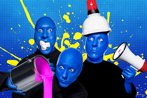 Blue Man Group Show at Universal Orlando Resort™