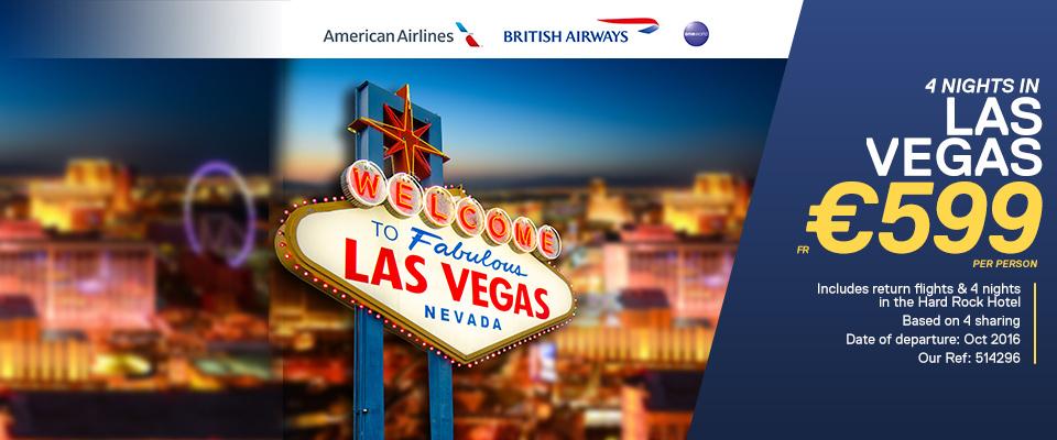 Las Vegas American Airlines & British Airways