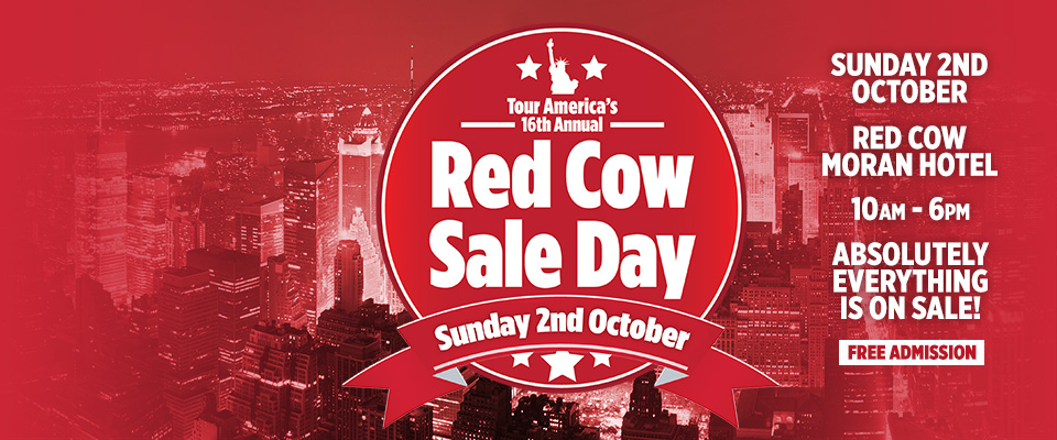 TourAmerica Red Cow Sale Day