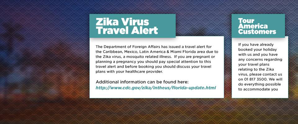 Zika Virus Travel Alert