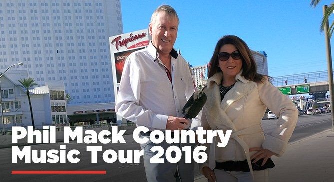 Phil Mack Country Music Tour 2016