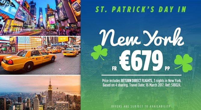 New York St Patricks Day