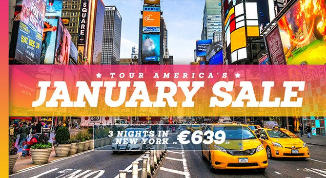 New York Holiday Deal