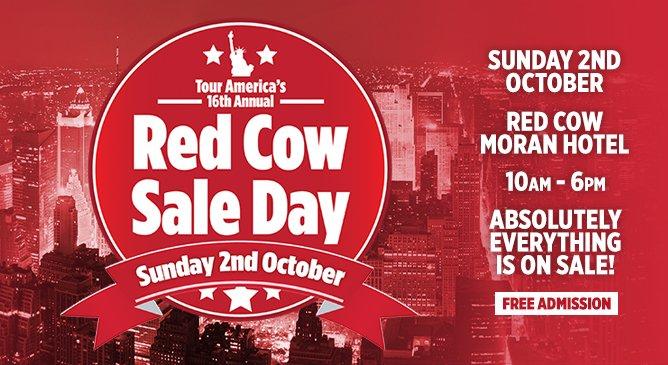 TourAmerica RedCow Sale Day
