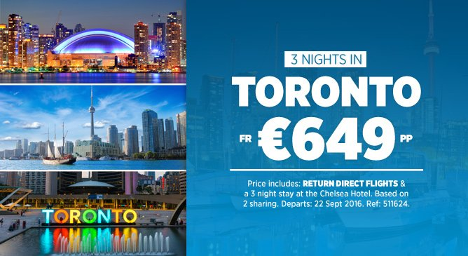 Toronto Holiday Deal
