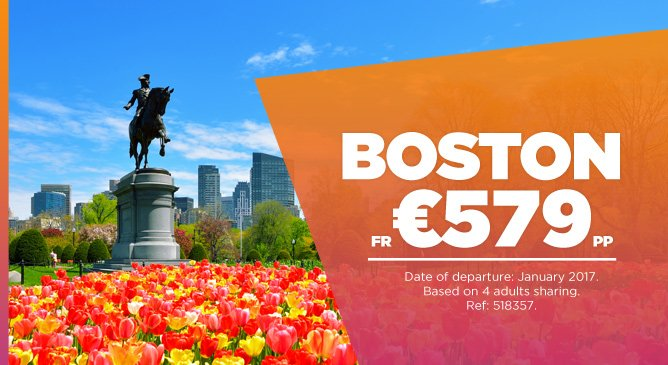 Boston Holiday Deal