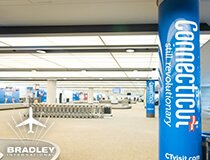 FLY DIRECT TO BRADLEY INTERNATIONAL AIRPORT