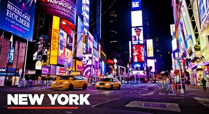 New York Night Life And Dining