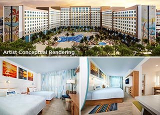 UNIVERSAL'S ENDLESS SUMMER RESORT - <br>DOCKSIDE INN AND SUITES VALUE HOTEL
