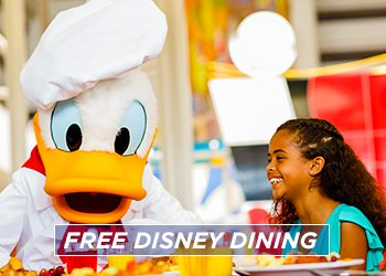FREE Disney Dining is back for 2020