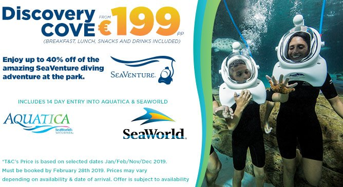 Seaworld Attraction Offer