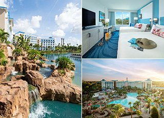 LOEWS SAPPHIRE FALLS RESORT - NOW OPEN<br>Preferred Hotel