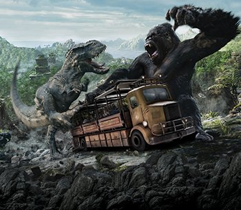 Skull Island: Reign of Kong<sup>SM</sup>. Now Open.