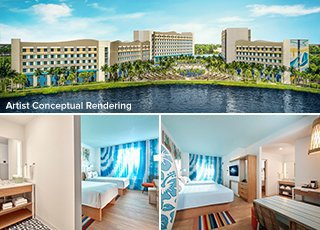 Universal's Endless Summer Resort - Surfside Inn & Suites <br> VALUE HOTEL
