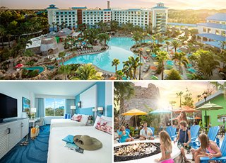 LOEWS SAPPHIRE FALLS RESORT AT UNIVERSAL ORLANDO <br>Preferred Hotel