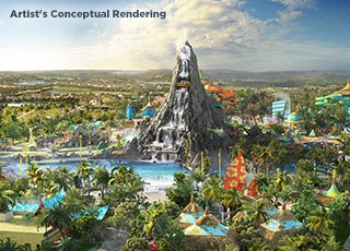 Universal's Volcano Bay<sup>™</sup> - Opening Early Summer 2017
