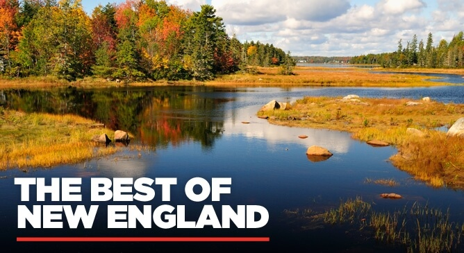 The Best of New England in the Fall Escorted Tour