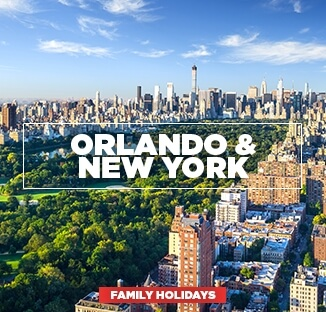 Orlando and New York