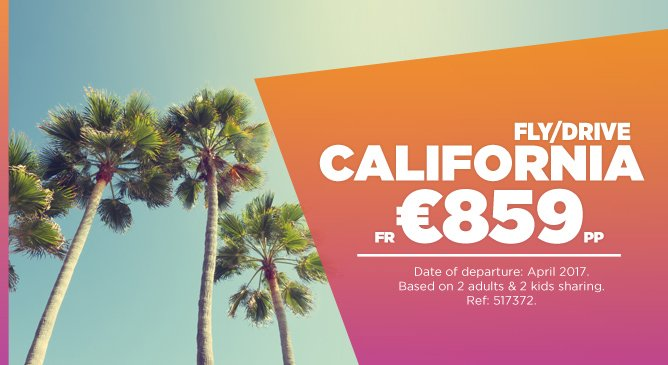 California Fly Drive Deal