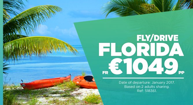 Florida Fly Drive Deal