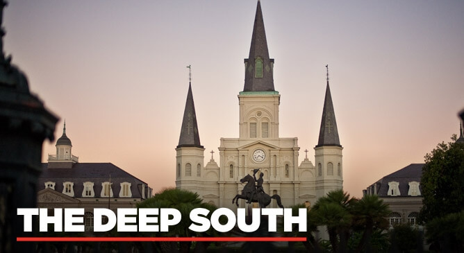 Deep South Fly Drive