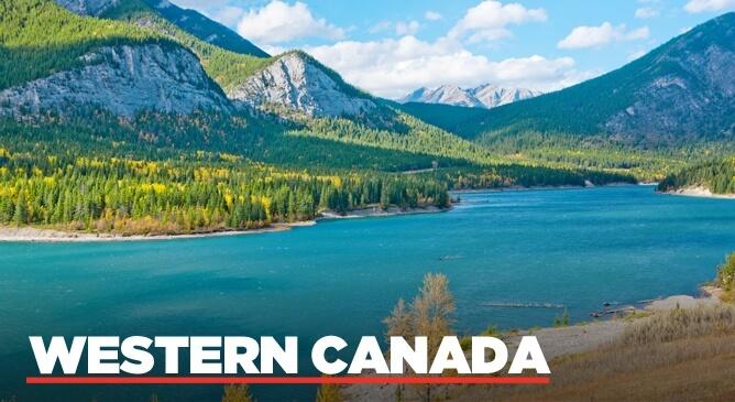 Western Canada Fly Drive