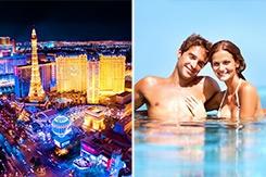 Las Vegas and Cancun