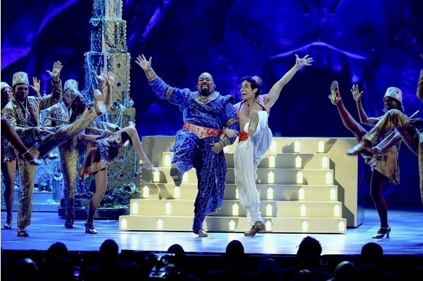 New York Broadway Shows Aladdin