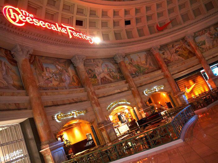 Cheesecake Factory Las Vegas