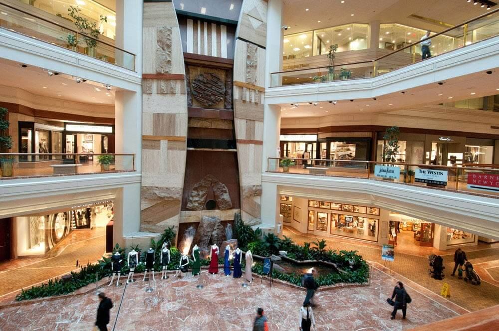 Copley Place Shopping