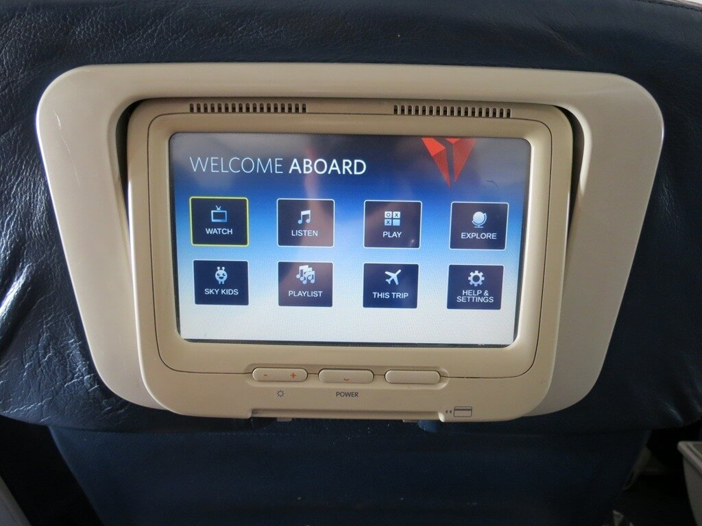 Delta Airlines Transatlantic Entertainment