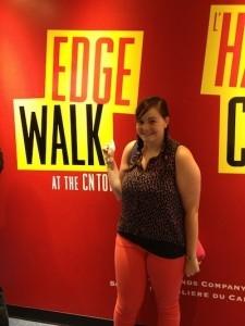 Edge Walk at the CN Tower Toronto