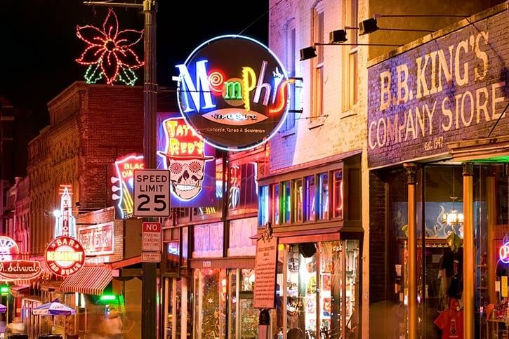 Five Top Things to do in Memphis, Tennessee