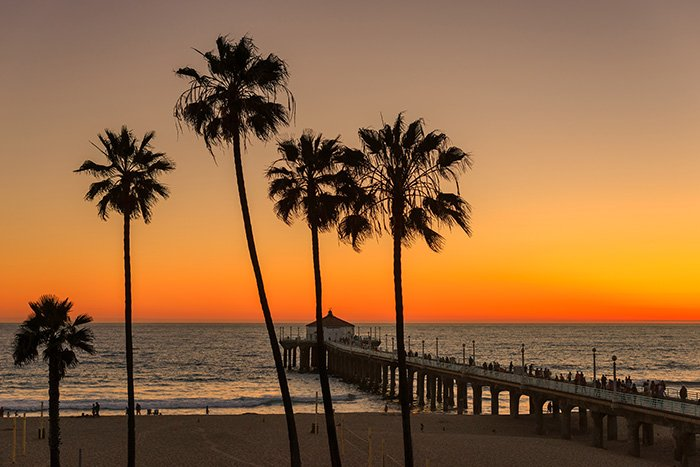 los-angeles-beach-sunset