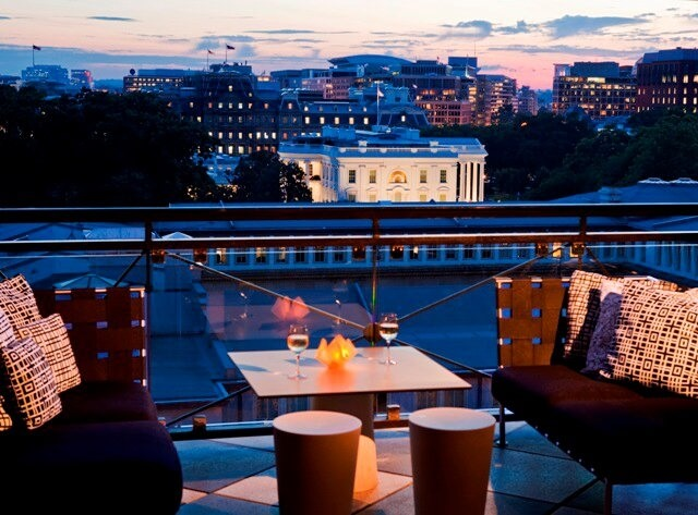 The W Washington D.C Rooftop Bar