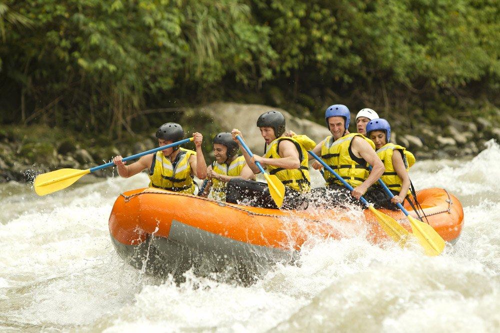 white-rafting