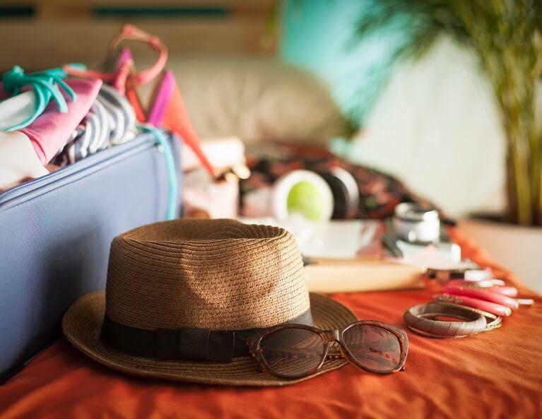 Travelling Tips Pack Light