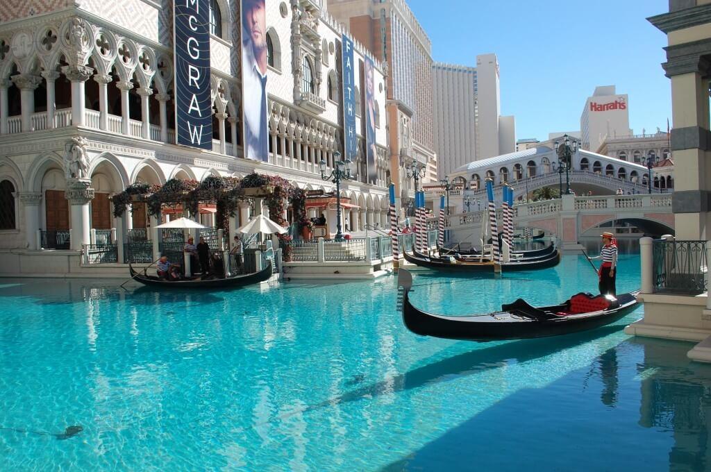Venetian Gondolas Las Vegas