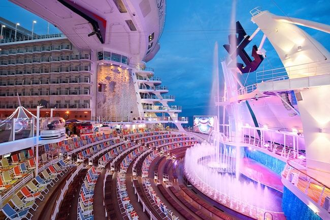 Aqua Theatre Allure of the Seas