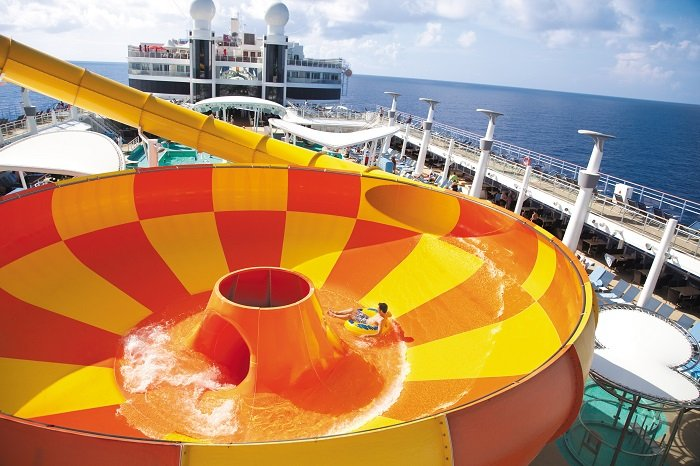 Norwegian Epic Water Bowl