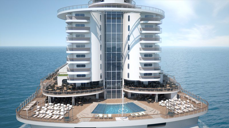 MSC Seaside - The Ship that Follows the Sun - Key Features