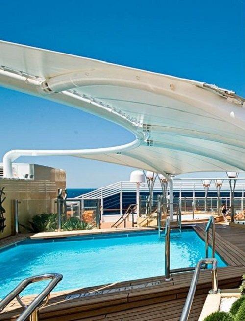 MSC Yacht Club pool