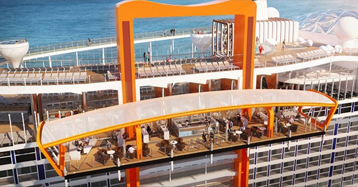 Celebrity Edge - Celebrity Cruises unveil details of their new revolutionary cruise ship.