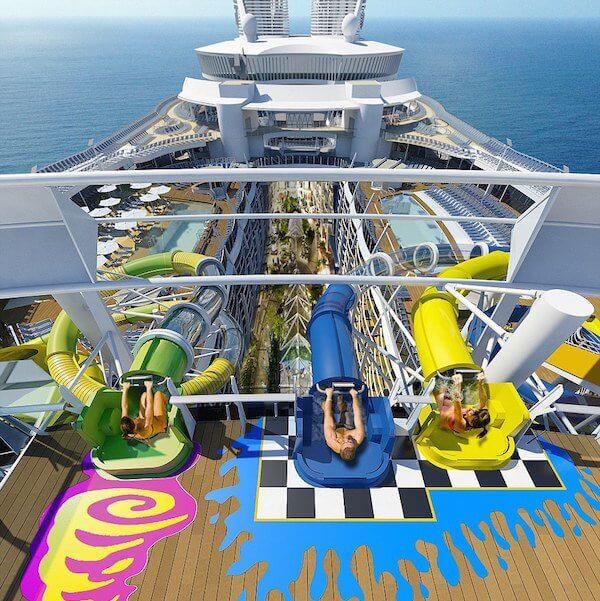 Harmony of the Seas Slides