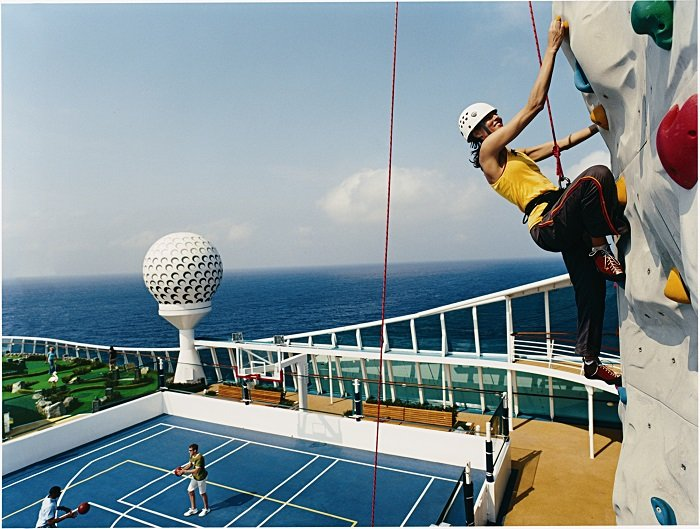 Rock Climbing Royal Caribbean