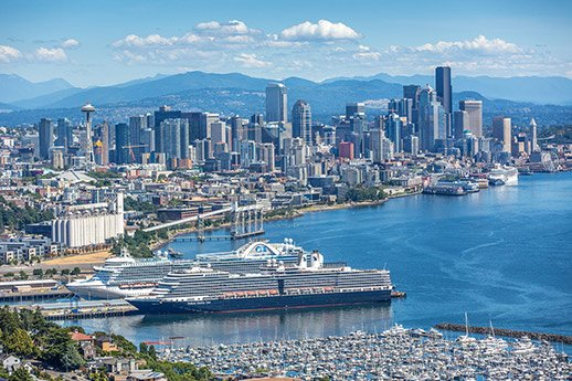 5 reasons why a Seattle and Alaska Fly/Cruise Holiday is the ultimate Holiday!