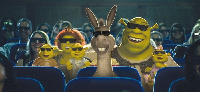 Shrek Cinema Royal Caribbean