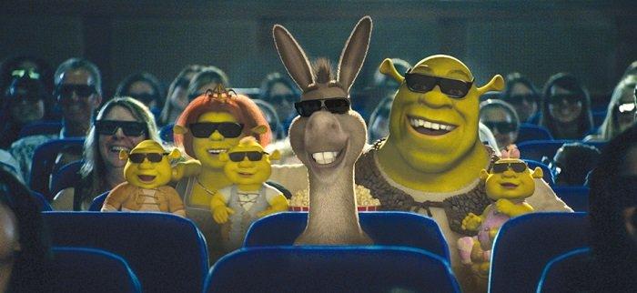 Shrek Cinema Royal Caribbean