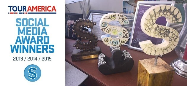 Tour America Scoops Social Media Award for Third Year Running