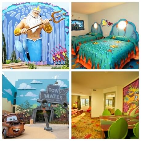 Top 5 Walt Disney World Hotels